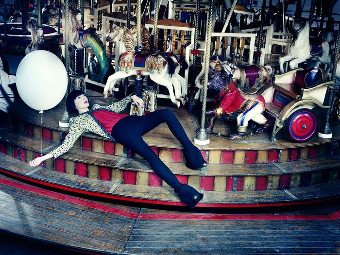 ANATOL DE CAP ROUGE - MERRY GO ROUND VIII