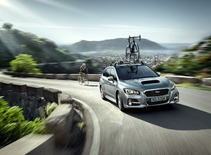 New Subaru Levorg International Artwork