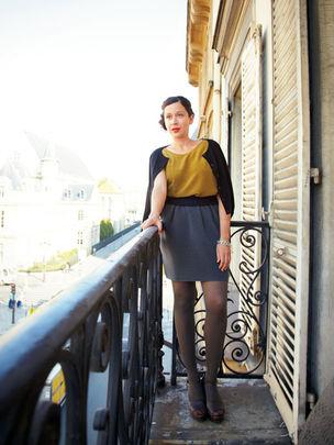 LIGANORD : Julia SERGIENKO for BRIGITTE