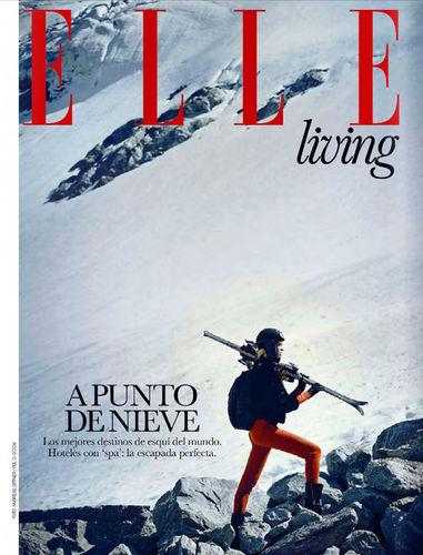 Andreas Ortner for ELLE Spain Januar Issue