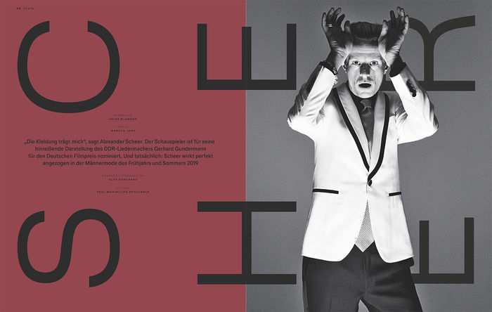 BIGOUDI: Paul Maximilian Schlosser für Lufthansa Exclusive Magazin