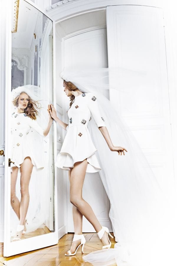 """ESTHER HAASE for MADAME FIGARO """"Wedding Story"""""""