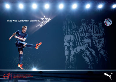 PUMA START BELIEVING BY JASON TOZER