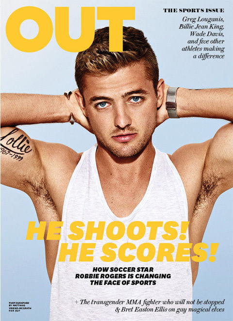 GLAMPR OUT MAGAZINE Robbie Rogers