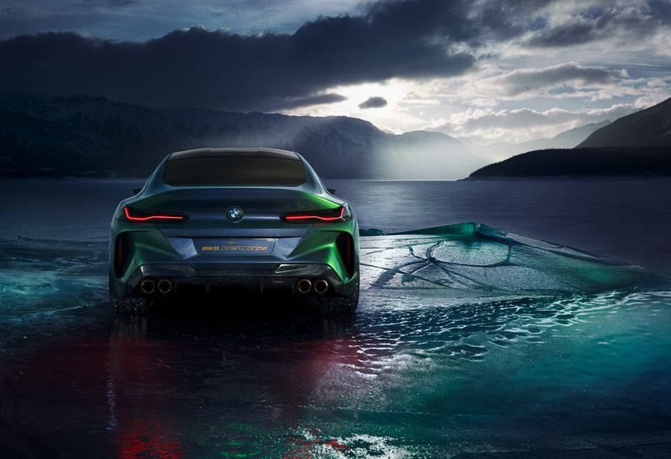 BMW GROUP : BMW Concept M8 Gran Coupe