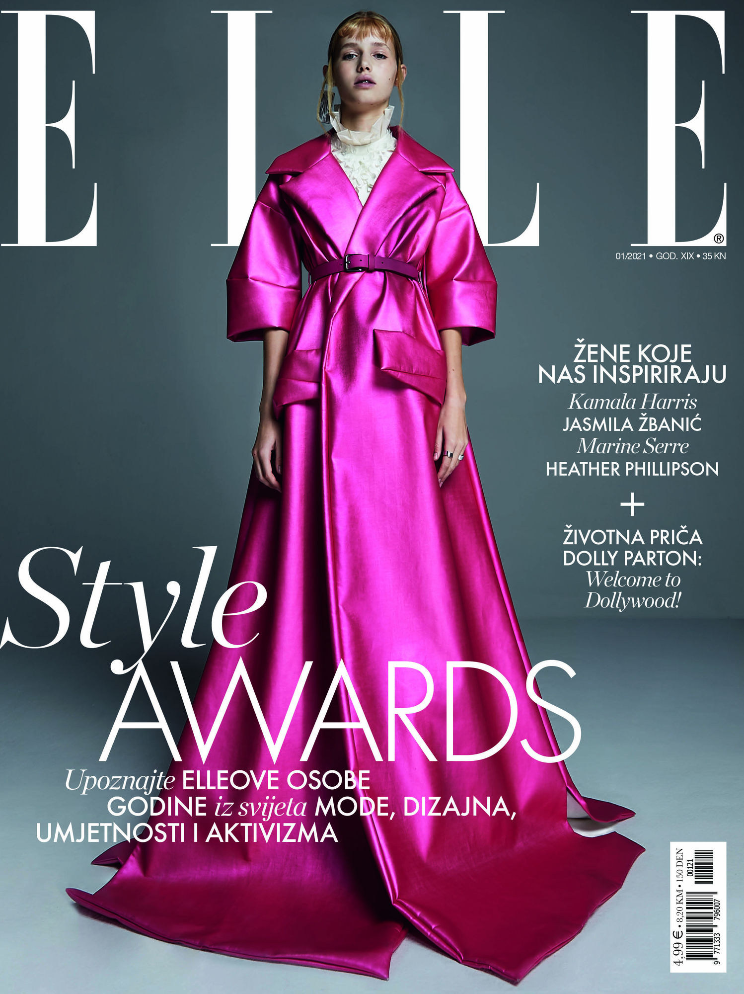 COVER SHOOTING for ELLE CROATIA by WINTELER PRODUCTION