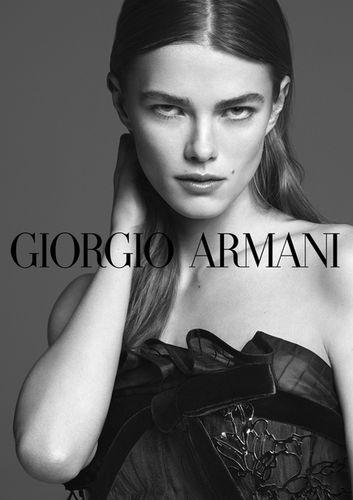 Mathilde Brandi for GIORGO ARMANI