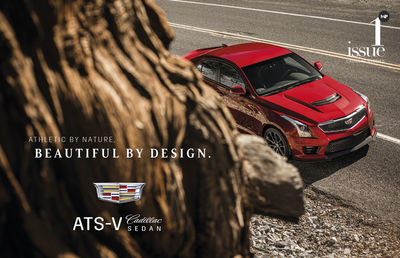PATRICK CURTET for CADILLAC ATS-V Sedan