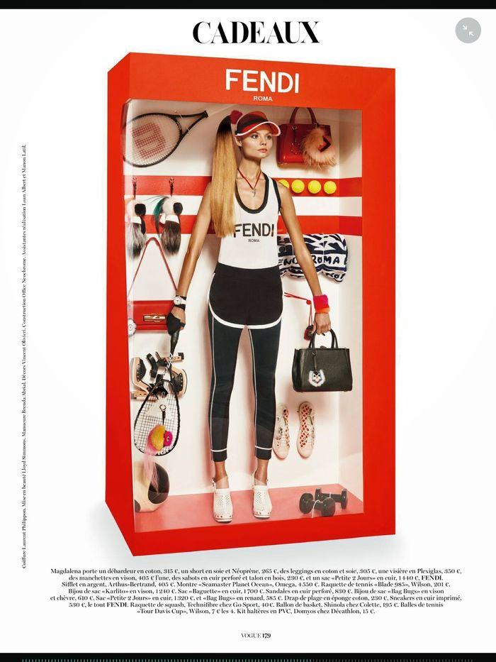 Magdalena Frąckowiak by Giampaolo Sgura for Vogue Paris December 2014