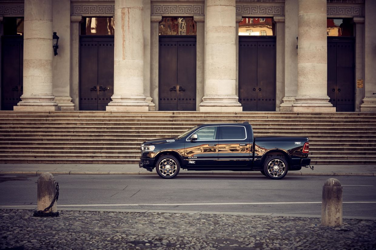 WE! SHOOT IT, Dodge RAM 1500 for AEC Europe