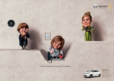 Renault Zoe by CARIOCA STUDIO c/o VISUALEYES ARTISTS for Publicis Colombia