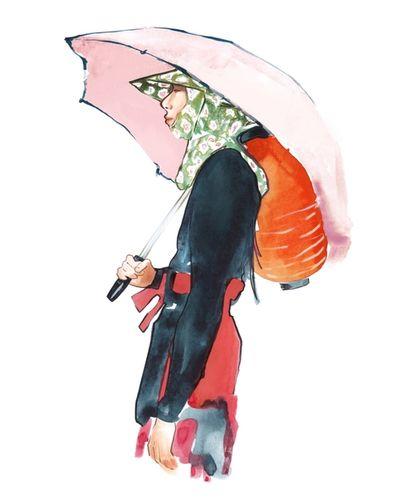 COSMOPOLA Illustration Artist - Francesco Lo Iacono - SS18 RafSimons