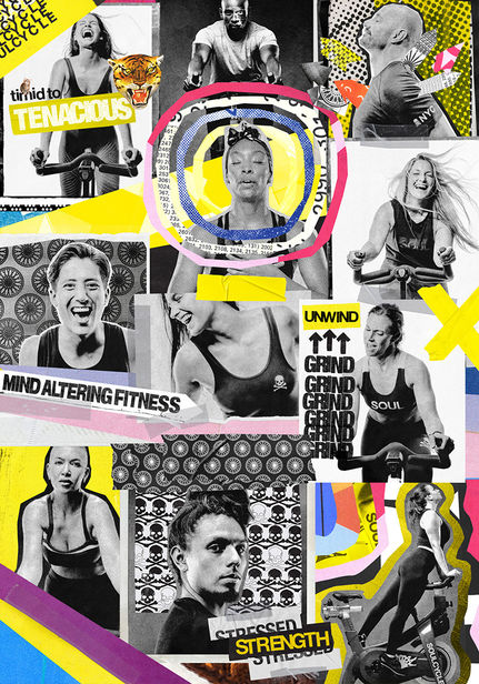 """GRACE RIVERA c/o GIANT ARTISTS  BRINGS """"AN EXPERIENTIAL IDEA"""" TO LIFE FOR SOULCYCLE"""