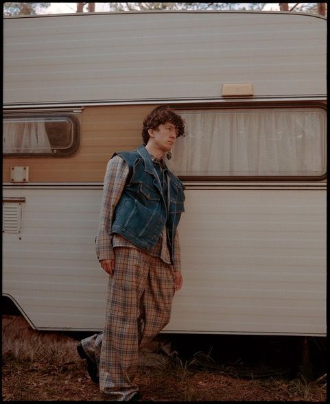 'So Close to Nature' Maximilian Mundt by Nikk Martin c/o BLOSSOM MGMT for Numéro Berlin