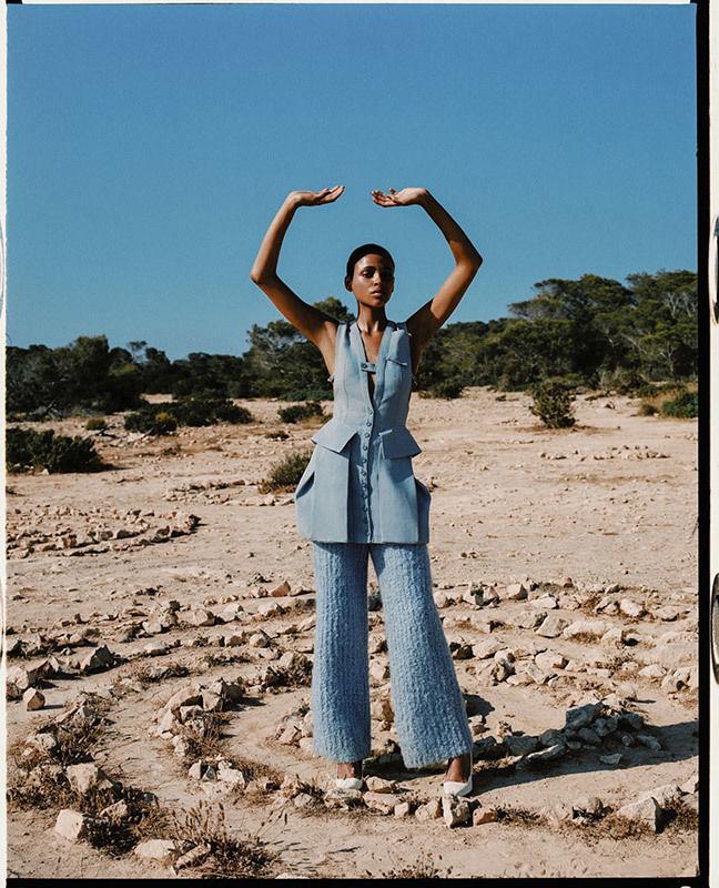 BIGOUDI Kate Mur für Vogue Spain