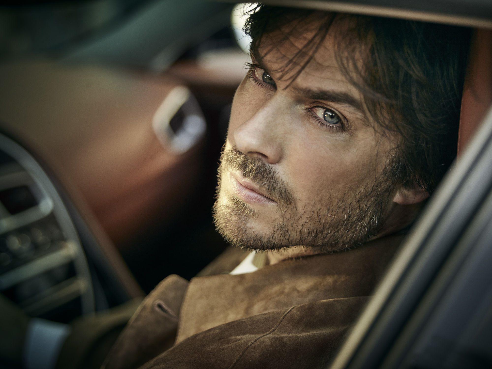 SEVERIN WENDELER: NOBLEMAN Cover shoot of Ian Somerhalder. Portrait by Robert Ascroft c/o Severin Wendeler