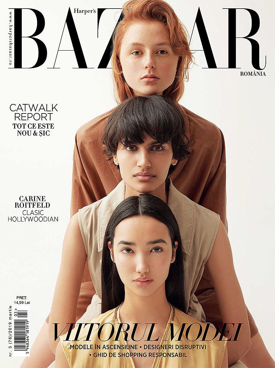 NINA KLEIN, Janina Zais, Harper´s Bazaar Romania