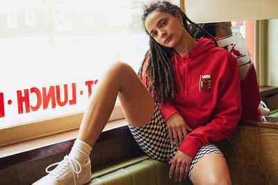 RJ SHAUGHNESSY c/o GIANT ARTISTS photographed SASHA LANE for VANS X URBAN OUTFITTERS