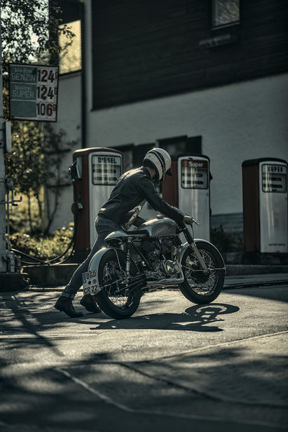 Blackbean Motorcycles by WE! Shoot it