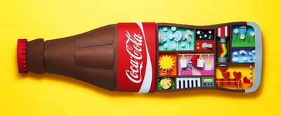 Happiness Machine for Coca-Cola