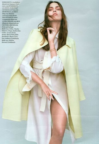 MUNICH MODELS: Maria Palm for ELLE Germany