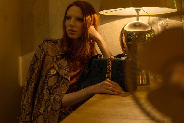 KLAUS STIEGEMEYER : Anna Rosa KRAU for VOGUE NL