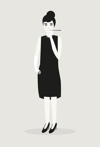 Judy Kaufmann // Postkartenmotive - Freie Arbeit