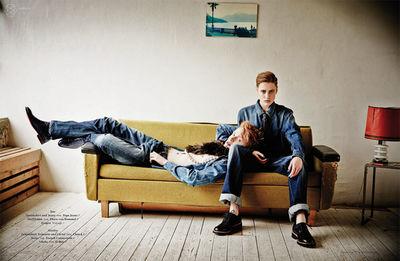 LIGANORD :  Hendrik SCHAULIN / Maike ALBECK for TEASER MAGAZINE