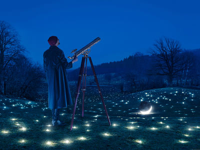 'Looking for Stars' Erik Johansson c/o AGENT MOLLY & CO