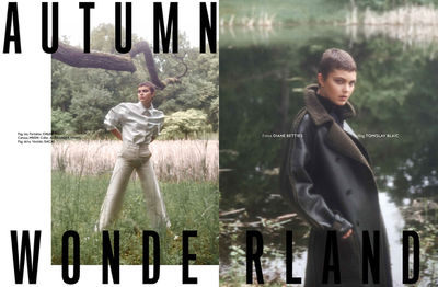 NINA KLEIN, Styling: Tomislav Blaic, Hair & Make Up: Patricia Heck, Photography: Diane Betties für Instyle Mexico