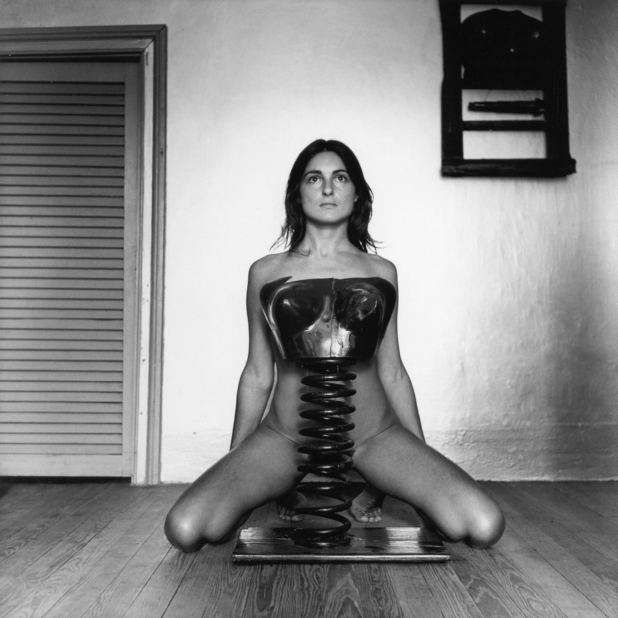RETHINK EVERYTHING: THE POWER OF ART IN TIMES OF ISOLATION - Liliana Maresca, Untitled. Liliana Maresca and her artworks, 1983