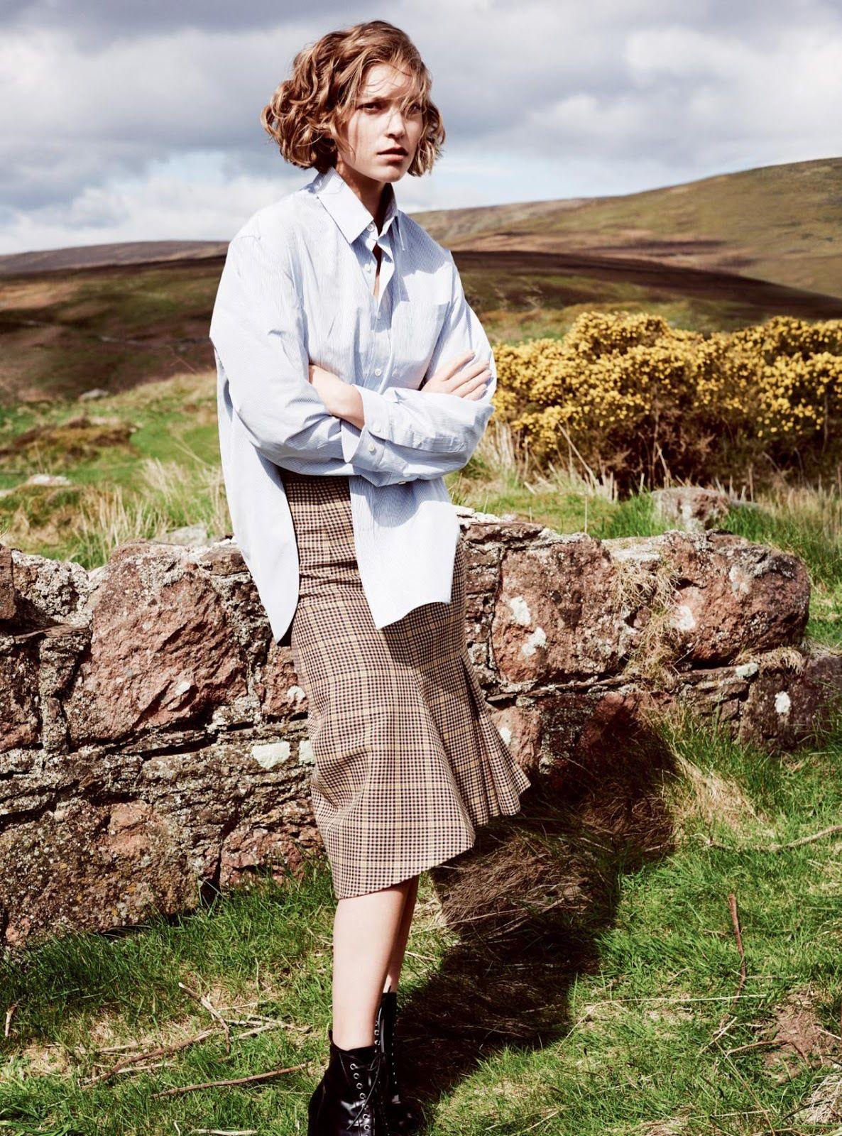 A Highland Romance - Harper's Bazaar UK September 2016