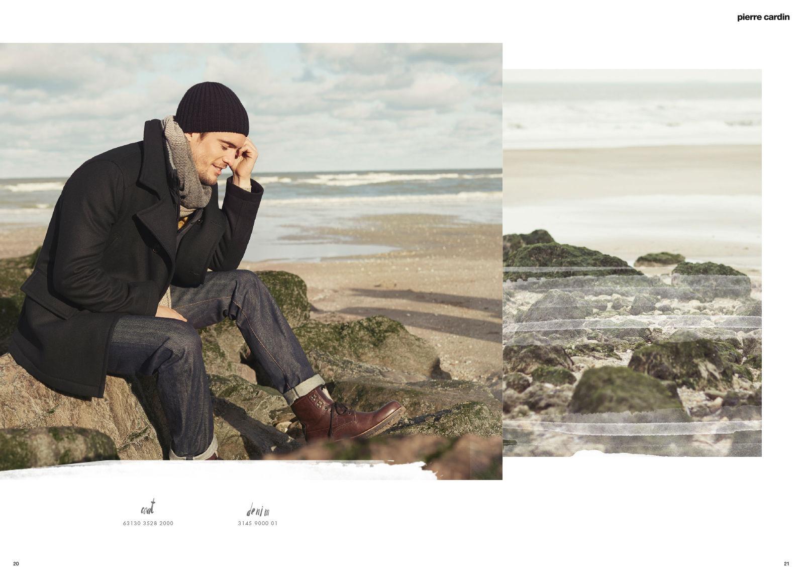 Pierre Cardin Lookbook f/w 16 17
