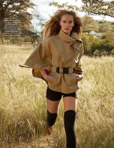 ASA TALLGARD for for ELLE FRANCE with ALEKSANDRA ØRBECK NILSEN June 2018 issue
