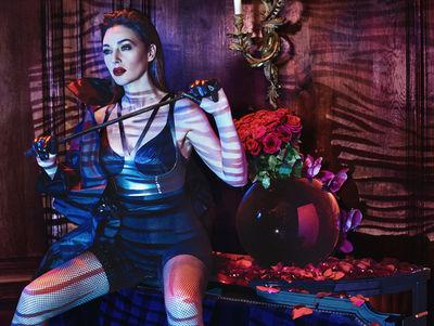 HUNTER & GATTI : Monica Bellucci for MARIE CLAIRE