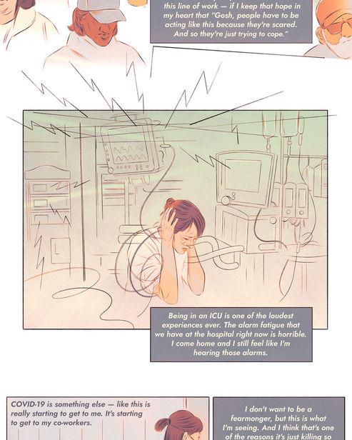 SEPIA illustration: Isabel Seliger, Comic