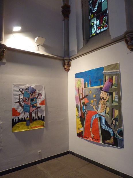 JIM AVIGNON – left: Central Park Tree House, 2011 / right: Dead end street, 2011 (Cityleaks Festival, Cologne, 2011)