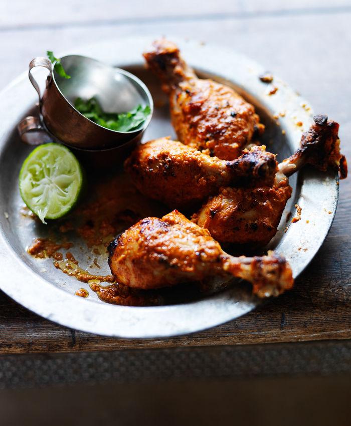 Marinated Spiced Chicken Legs