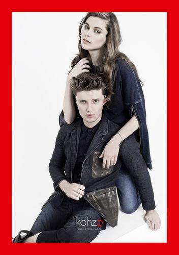 STEPHANIE WENCEK POSTDESIGN for KOHZO Jeans