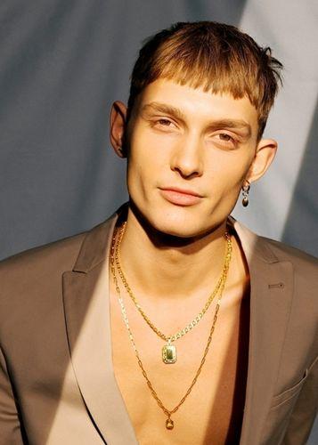 VIVA MODELS:Vincent Schneider for Ariane Ernst Jewelry