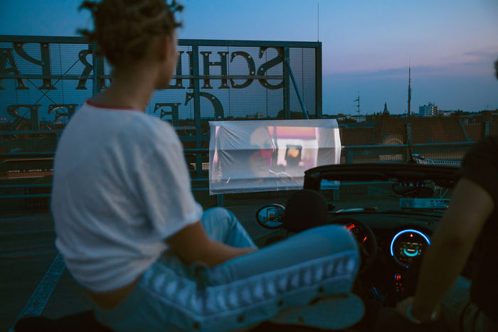 DRIVE IN THEATRE  by Cem Guenes