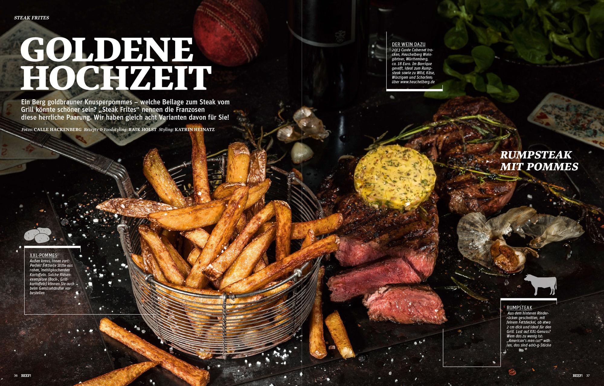 BEEF! SteakFrites! CALLE HACKENBERG