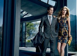 MUNICH MODELS : Malgosia BELA for HUGO BOSS BLACK