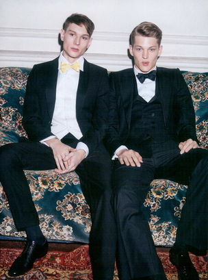 VIVA MODELS for L'OFFICIEL HOMMES