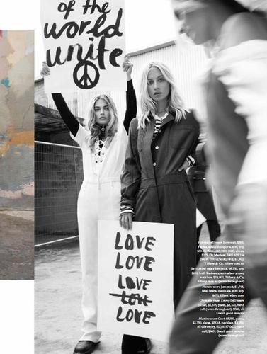 Victoria Plum for Elle Australia