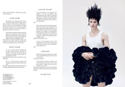 Johan Sandberg for SSAW Magazine