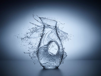 Liquid Glass by Jean Bérard