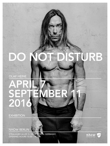KLAUS STIEGEMEYER : DO NOT DISTURB exhibition by OLAF HEINE