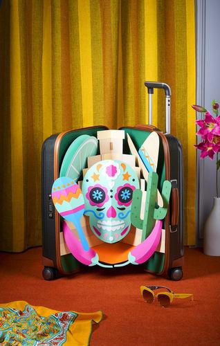 SZ Magazine Pop-Up Suitcases