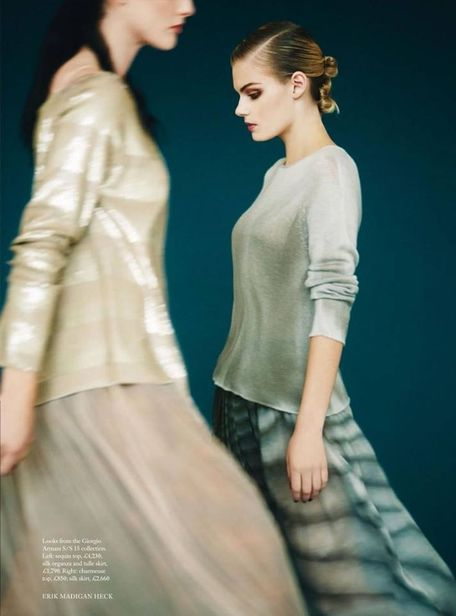 MD MANAGEMENT: Gabrielle Kagay for Harper's Bazaar UK